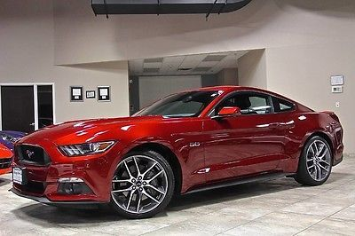 2015 Ford Mustang Gt Coupe 6 Speed Automatic Red Ruby Paint 3400 Miles Wow Used Ford Mustang For Sale In West Ch Ford Mustang Gt 2015 Ford Mustang Mustang Gt