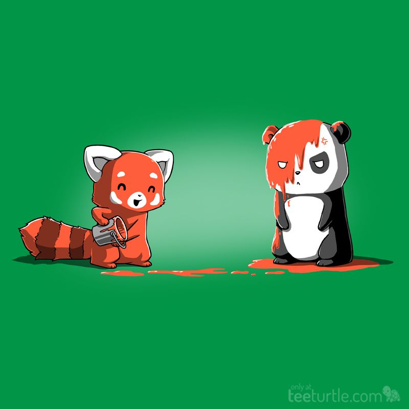 Hope You Like Off Color Jokes Panda Art Panda Drawing Red Panda