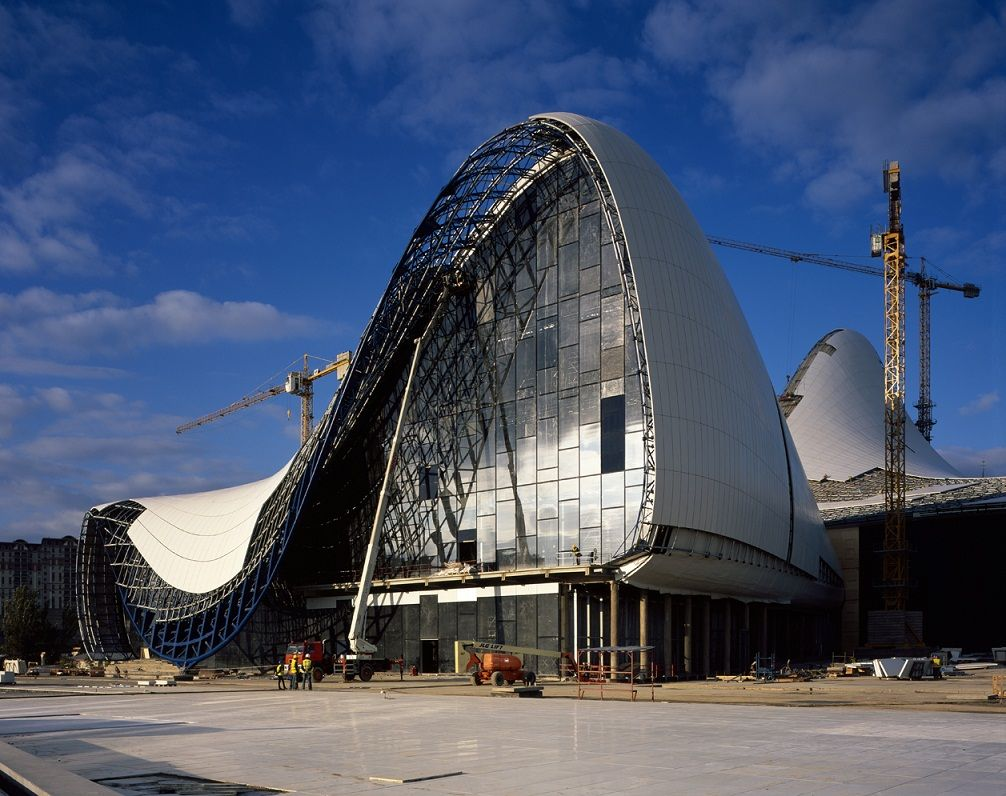 Explore Zaha Hadid Architecture And More! Structure Design Of HEYDAR ALIYEV  CENTER ...