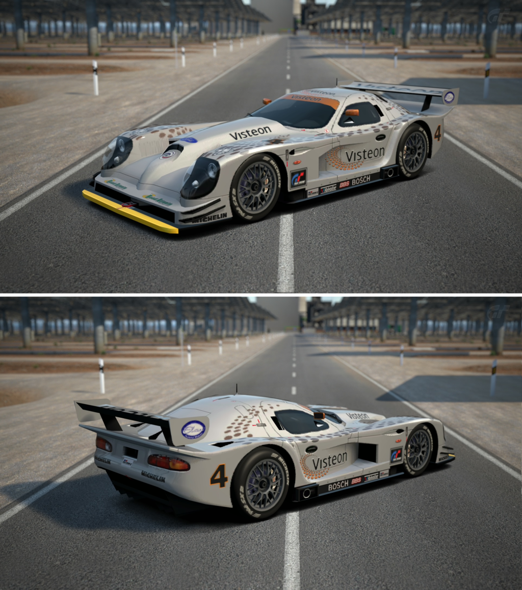 Panoz esperante gtr 1 race car 98 by gt6 garage on deviantart