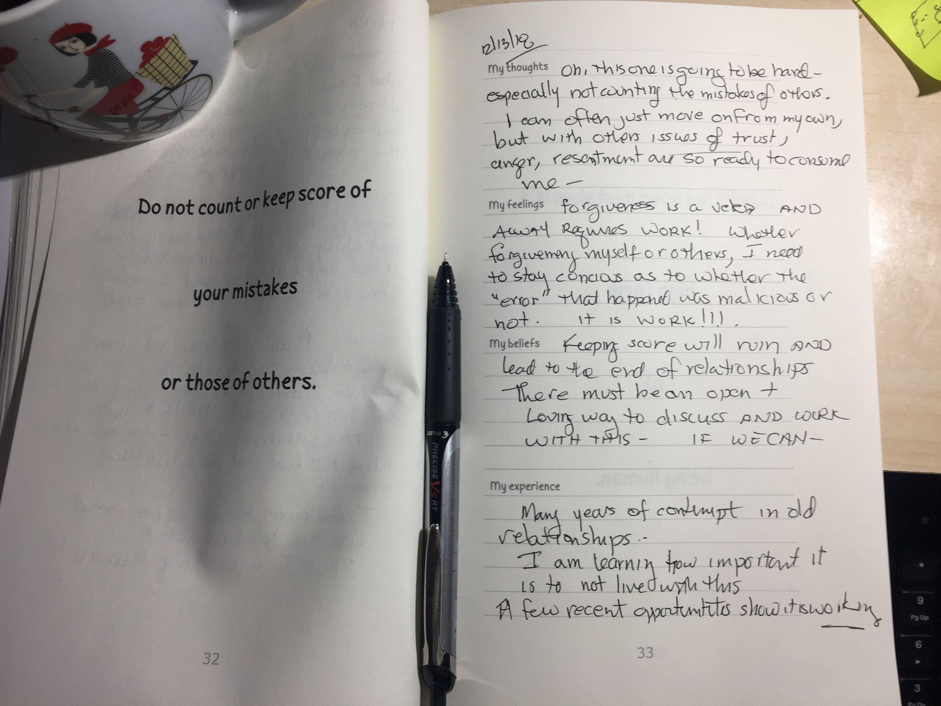 I Am Going Through Each Worksheet In Handbooks For Humans
