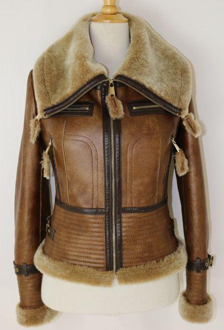 Épinglé sur Sheepskin & leather Дубленки и кожа