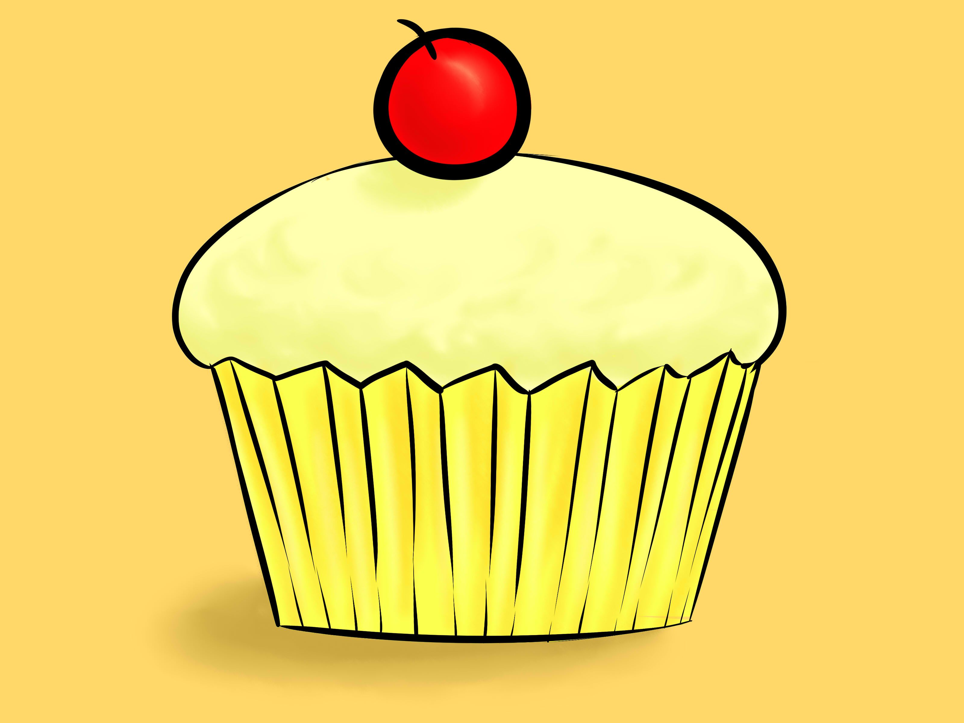 Draw A Cupcake All Things Lucy Gail Pinterest