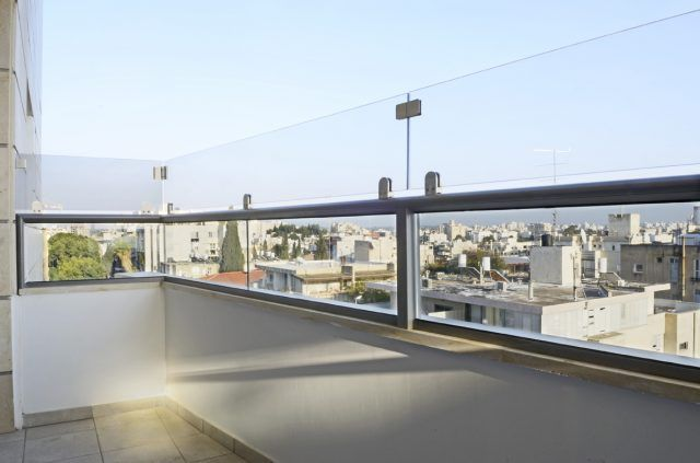 Extend The Height Of Existing Balcony Railing With Glass Panel Balcony Railing Glass Balcony Glass Balcony Railing
