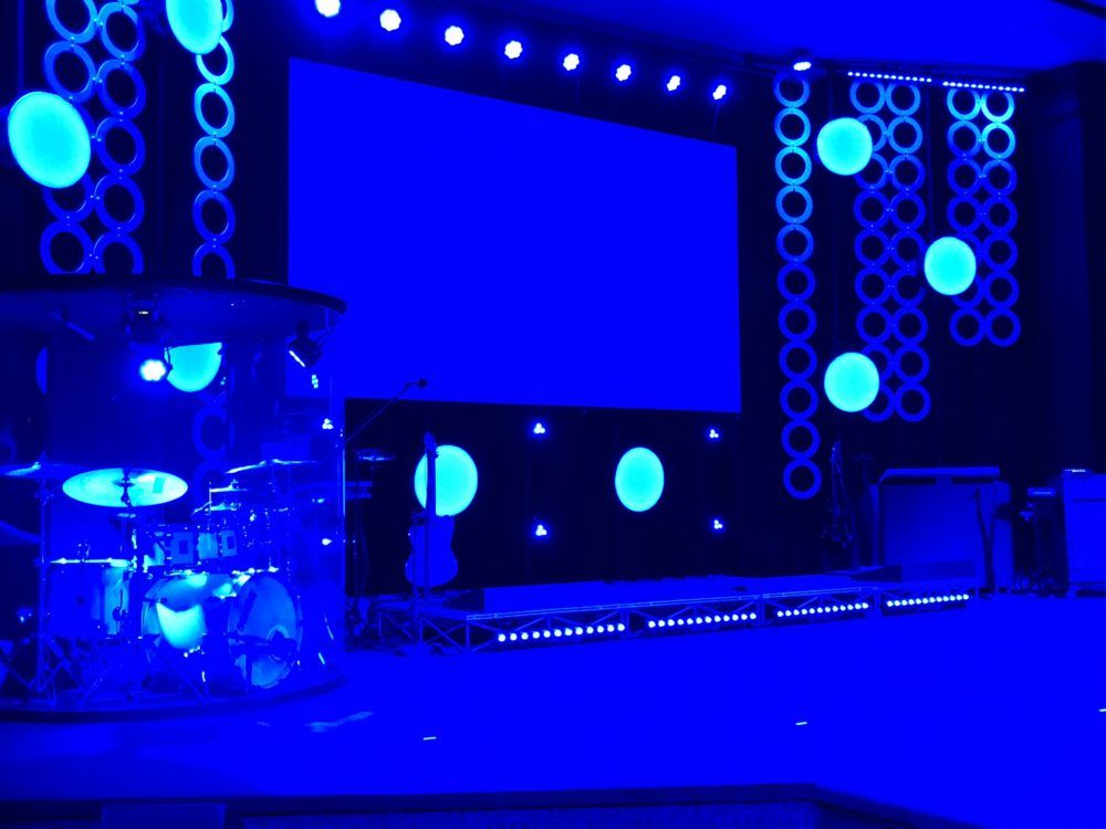 Seeing Spots | Church Stage Design Ideas | Church stage ...
