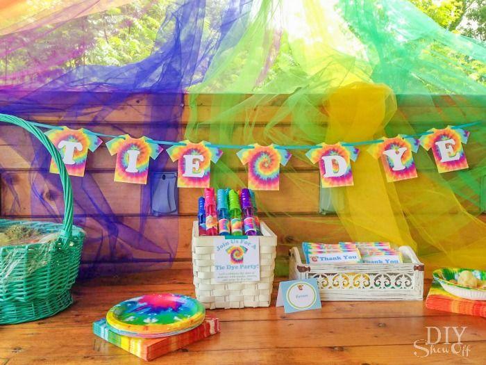 tie dye party fun