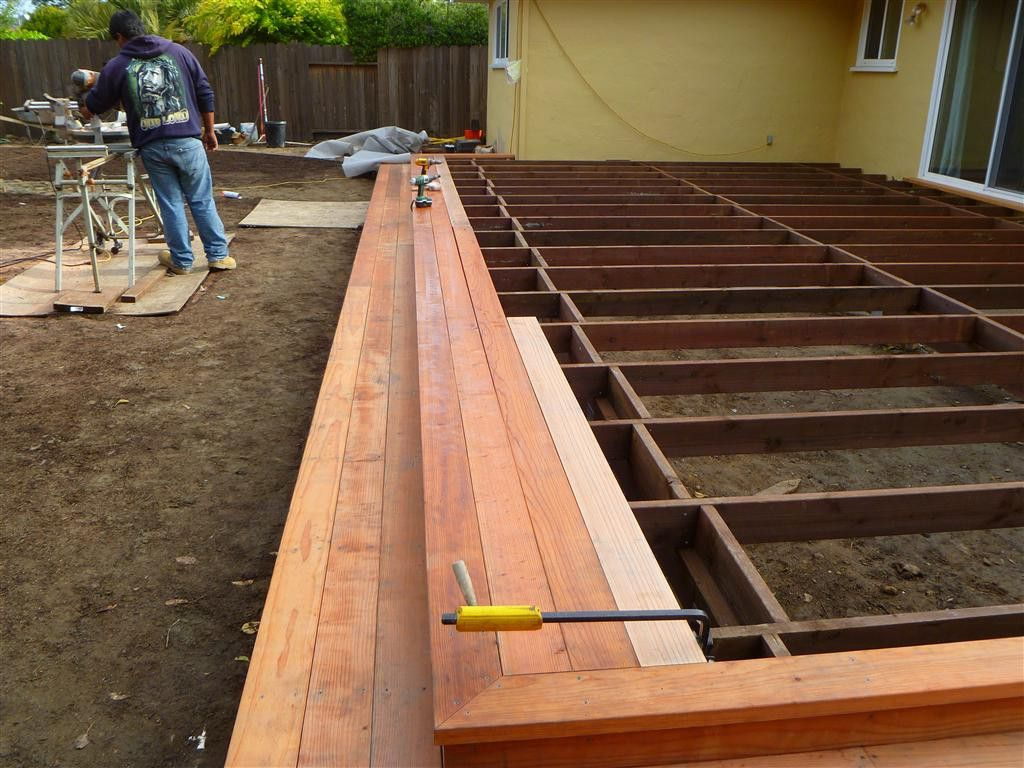 How to build deck ideas for Timber deck construction