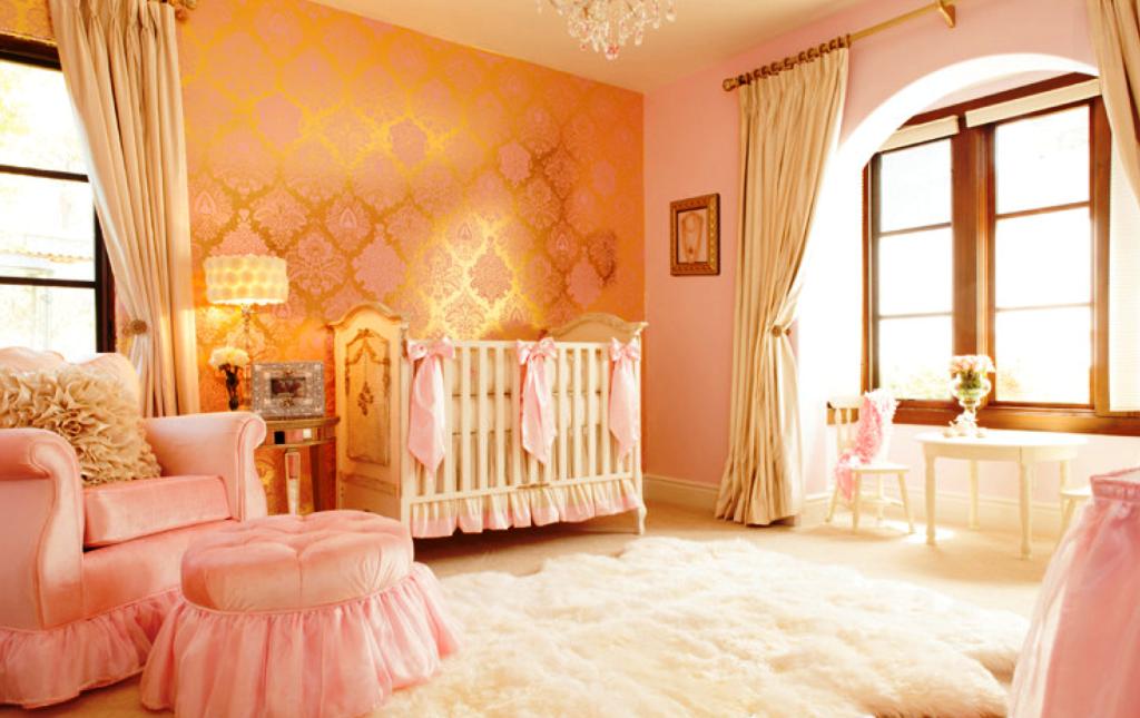 Elegant Nursery Decoration Ideas (Dengan gambar)