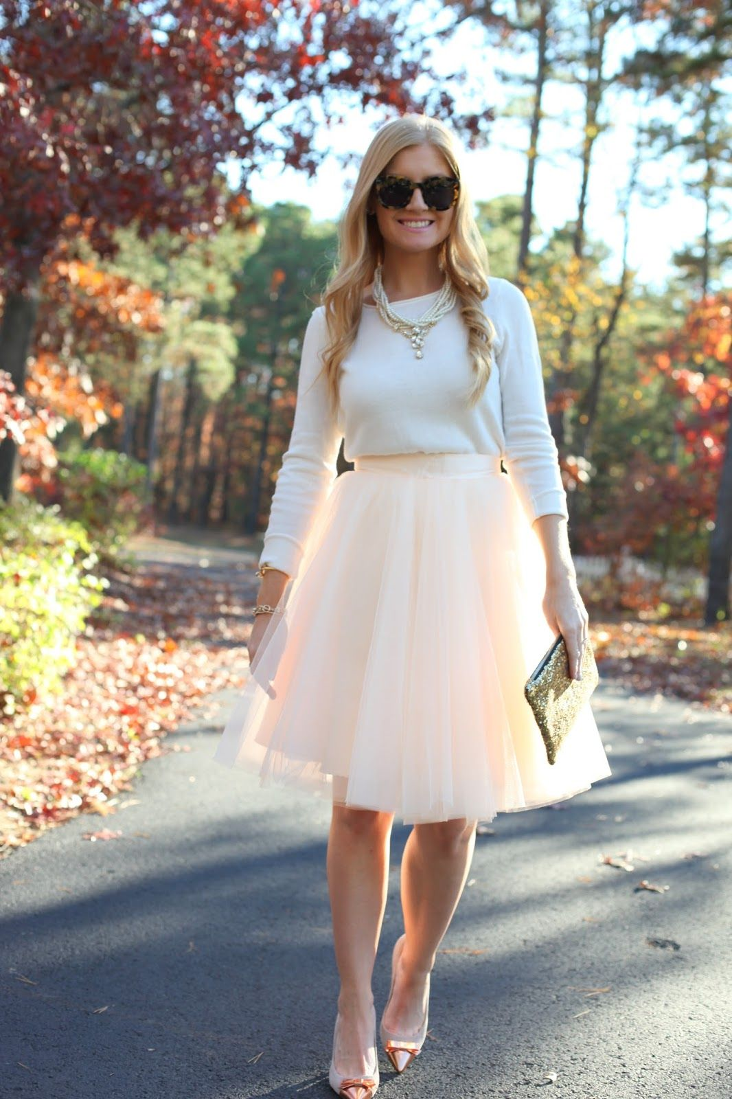 Tulle Skirt Birthday Outfit Style details on www
