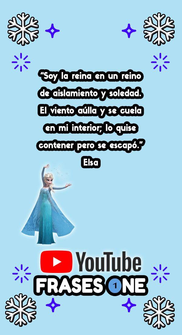 Frases de Frozen ❄️👸✨Frases One✨ en YouTube para más vídeos de Frozen. 📝|| Frozen (2013) || Frases y citas célebres de Disney para dedicar y compartir ❄️☃️ || #Frozen #Frases #FrasesDePelículas #FrasesDisney #FrasesFrozen #invierno #nieve #películas #pensamientos #emociones #sentimientos #PelículasDisney #LetItGo #Elsa #FrasesElsa #FrozenEspañol #amistad #Disney #pensar #frío #amor #FrozenElsa #dibujosAnimados #disneyprincess #ice #viento #winter #frozenfever #frozenparty #felicidad #amigos ||