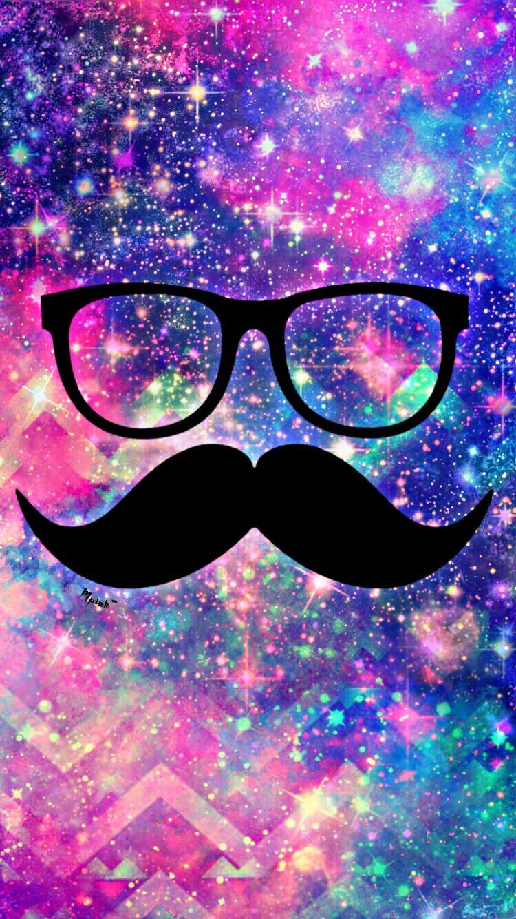 Hipster mustache wallpaper my wallpaper creations - Hipster iphone backgrounds ...