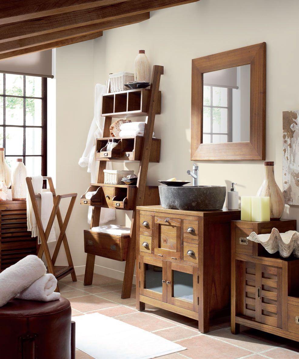 Muebles para el Baño de estilo colonial http://www ...
