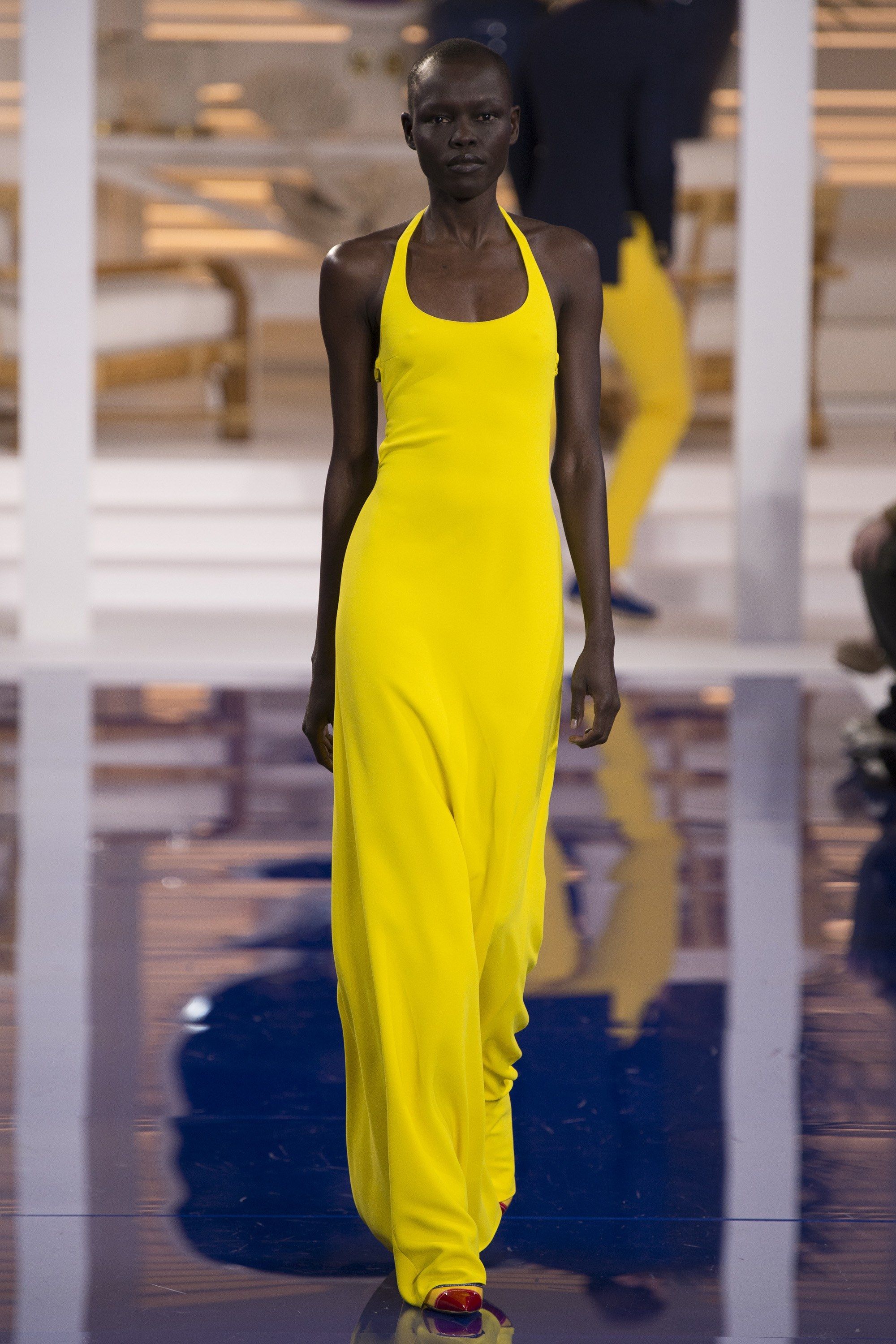 bb5cf0fd2921 Grace Bol for Ralph Lauren Spring Summer 2018 - New York Fashion Week.