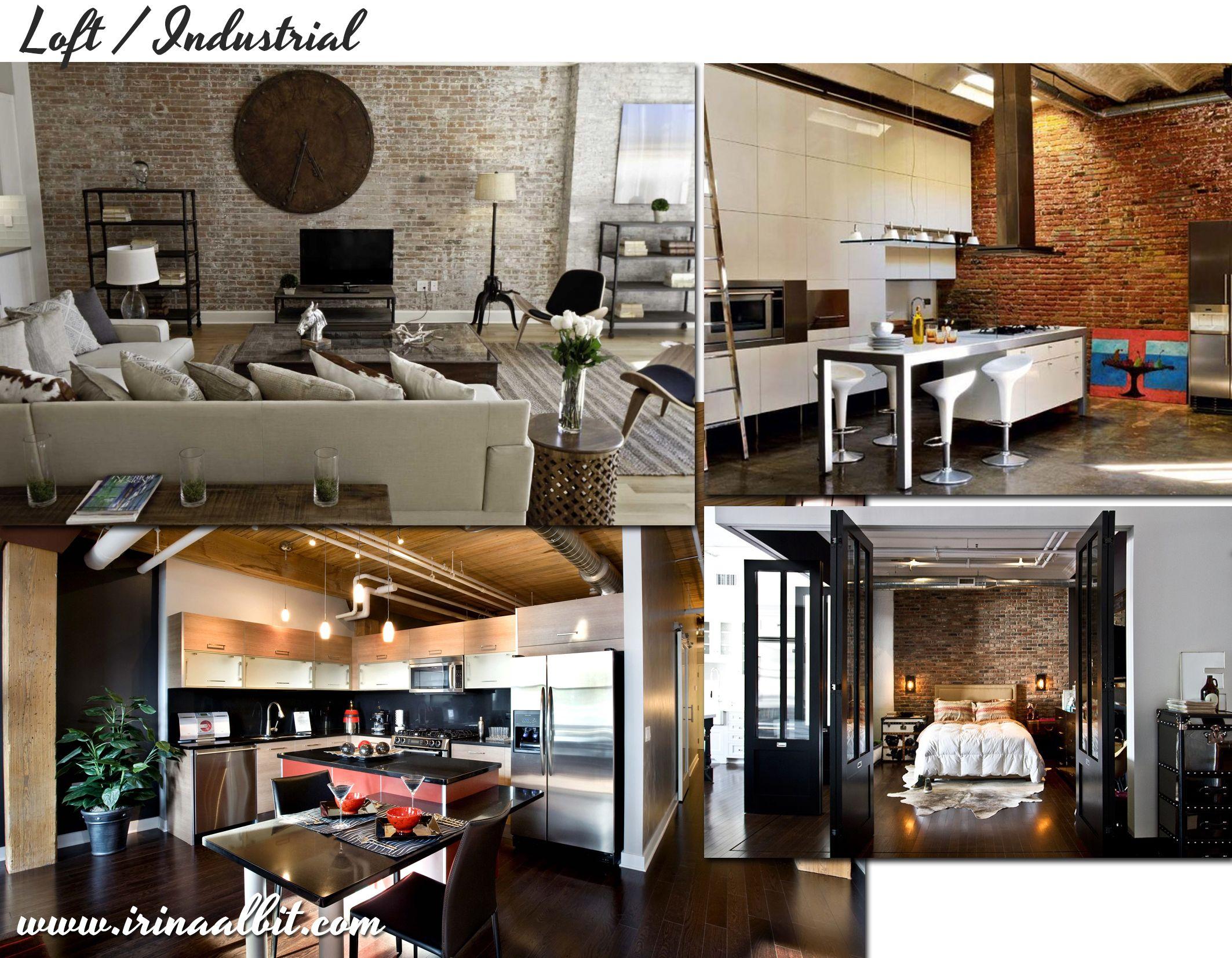 arredamento country, vintage, industrial, loft, urban, shabby chic, Innenarchitektur ideen