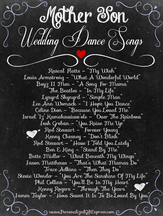 Top 10 mother son wedding songs-2222