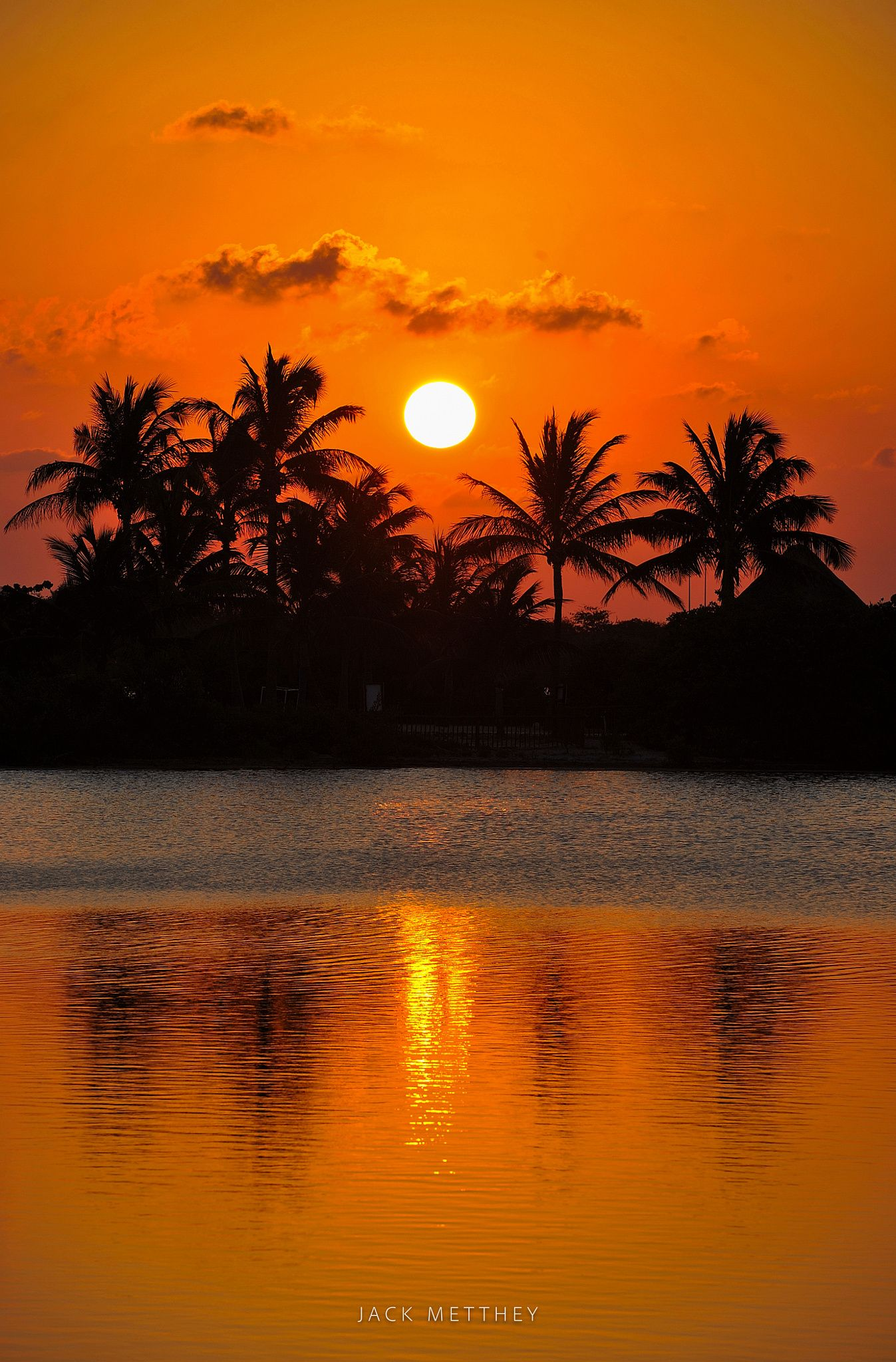 Tropical Sunset In Cancun Null Beautiful Landscapes Beautiful Sunset Nature Pictures