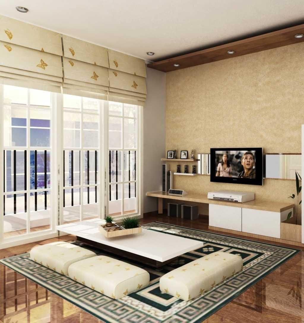 Desain Ruang Tamu Lesehan Ala Jepang Check More At Http