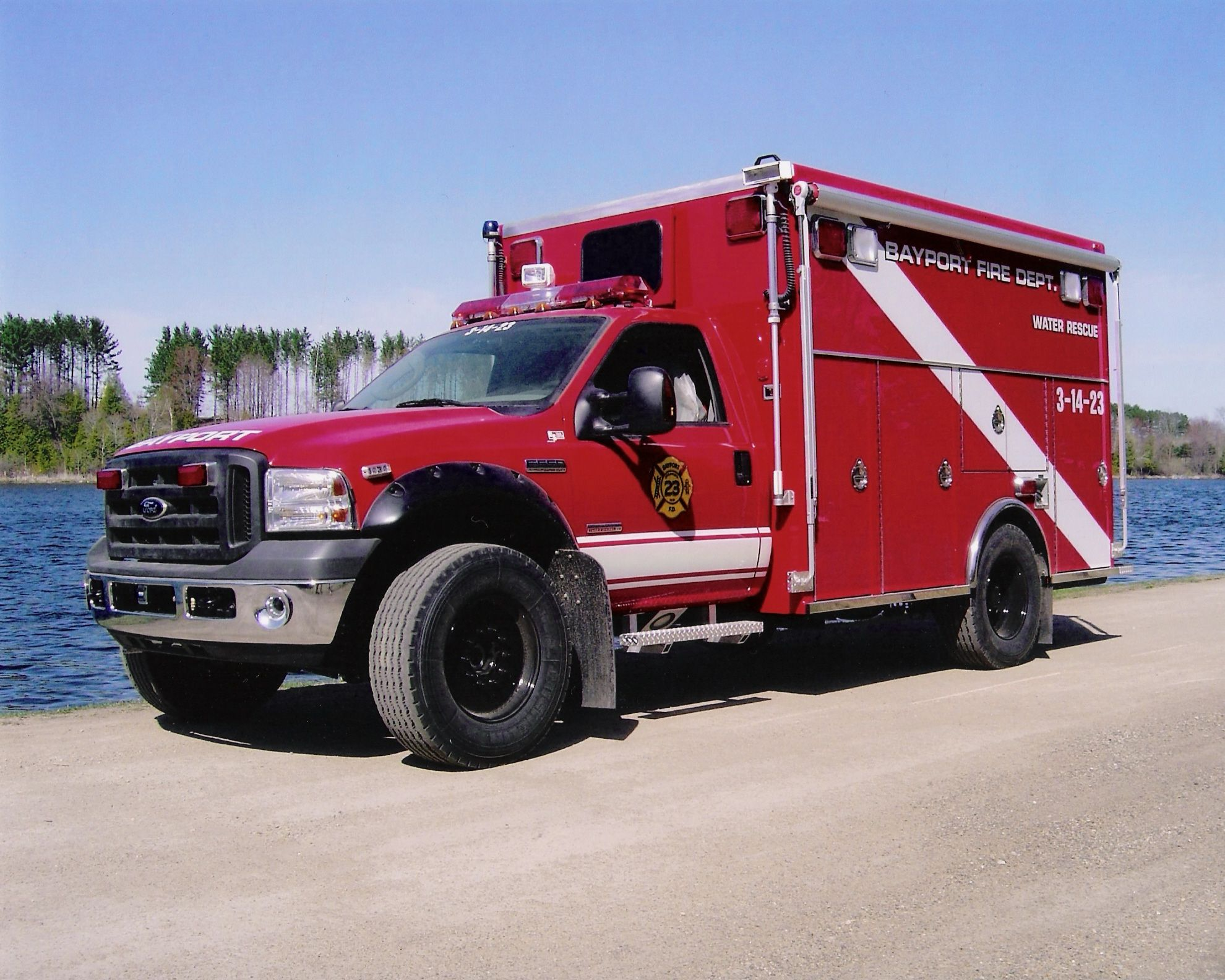Fd ford water rescue unit