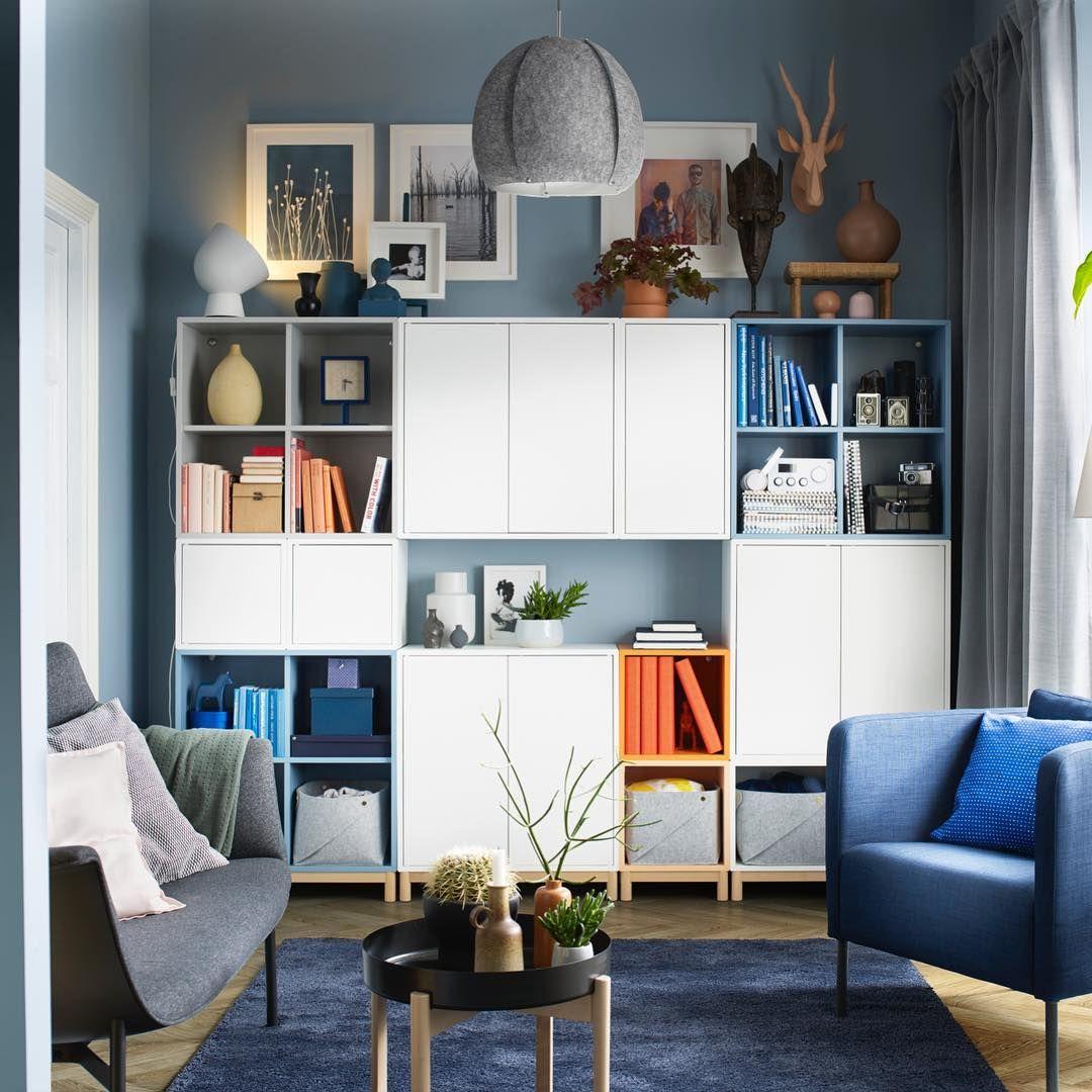 825 Otmetok Nravitsya 3 Kommentariev Ikea France Ikeafrance V Instagram Un Salon Ludique Avec Les Range Rangement Salon Mobilier De Salon Meuble Salon