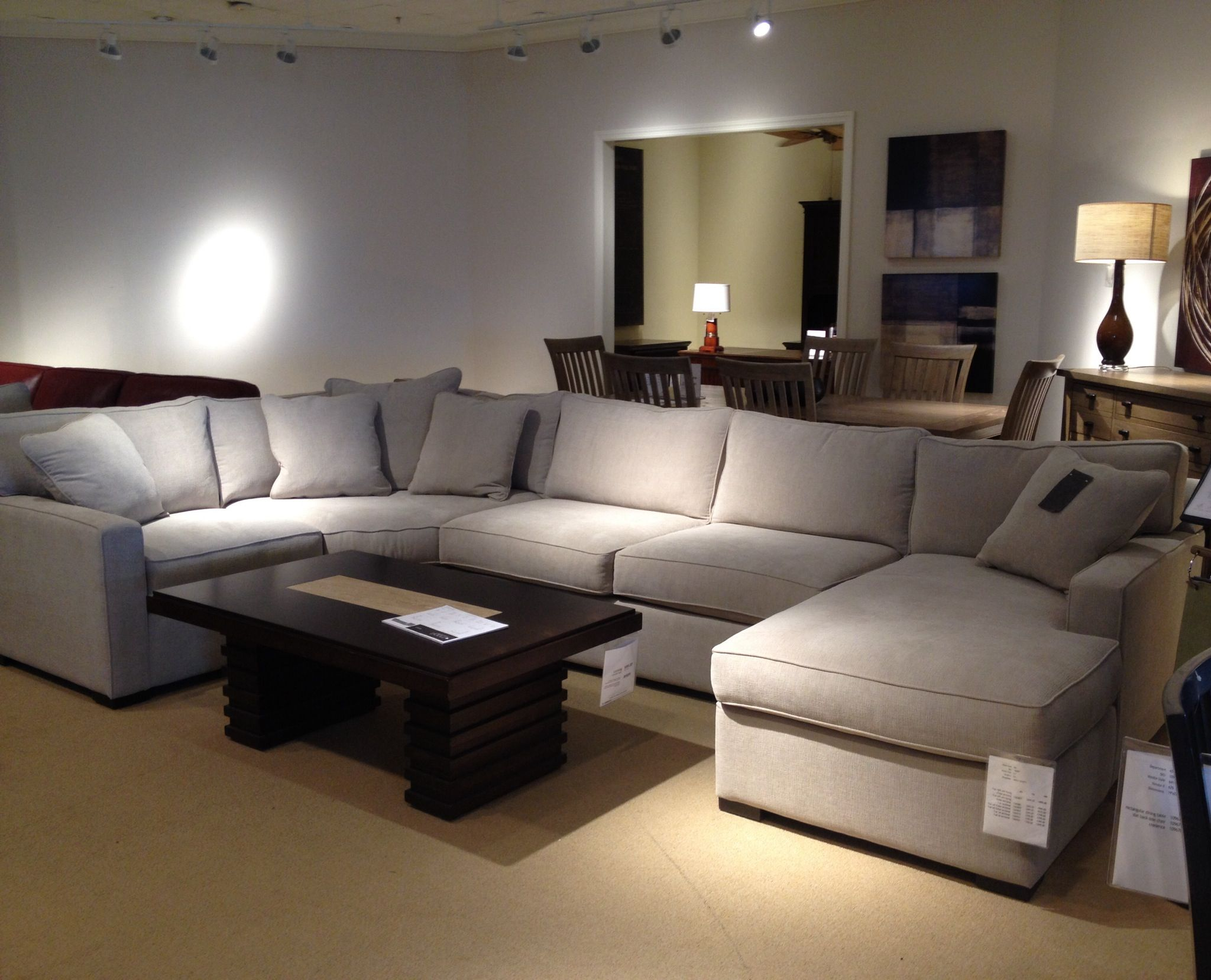 Radley 4 piece sectional sofa from Macys Whats great is we can