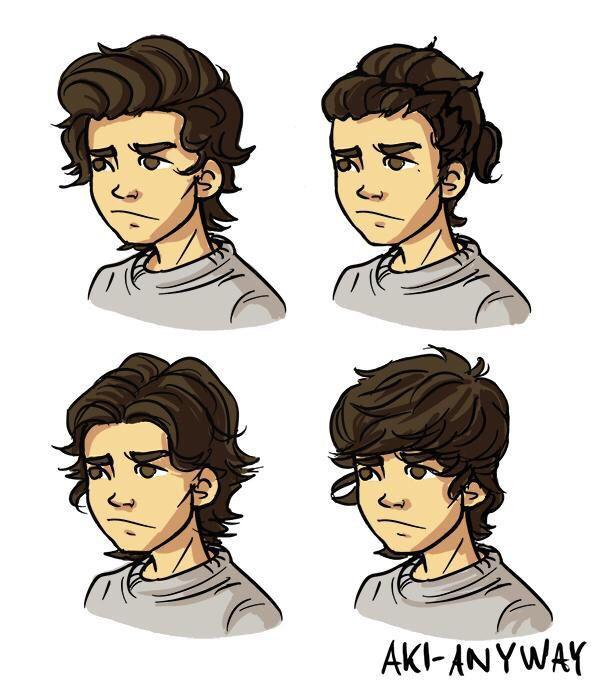 Zayn Malik Cartoon Drawing