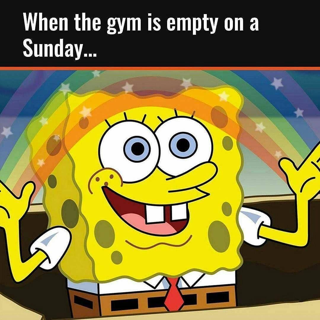 Love empty gyms suckitupfitness sunday life