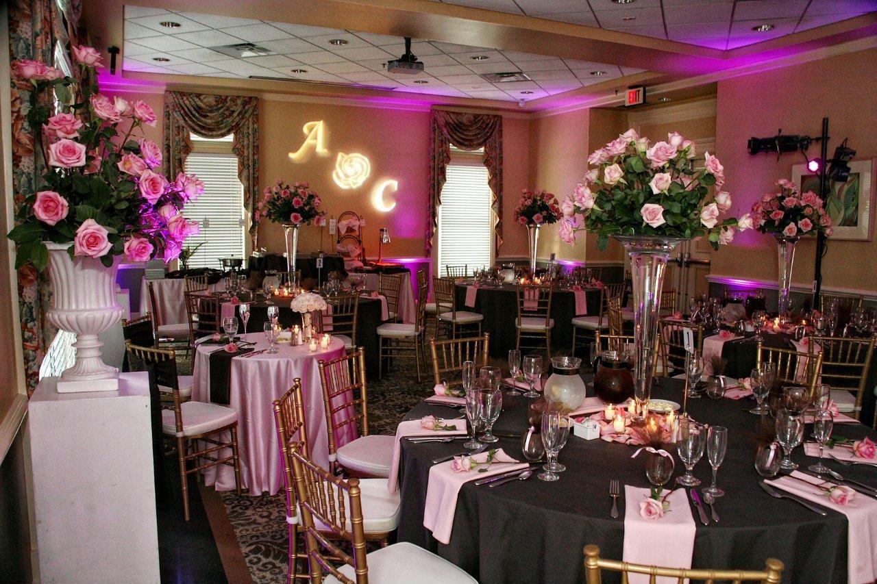 leu gardens wedding reception