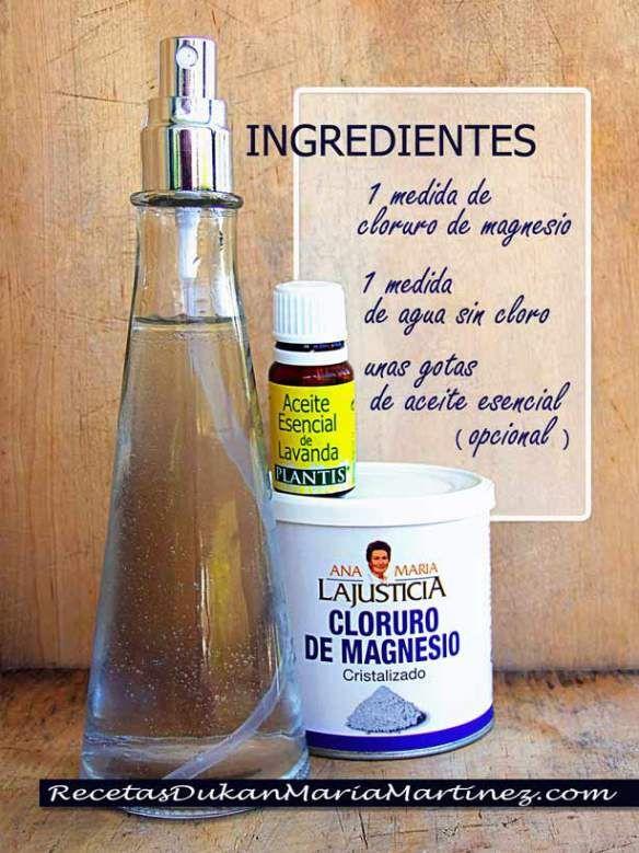 cómo preparar el cloruro de magnesio para bajar de peso