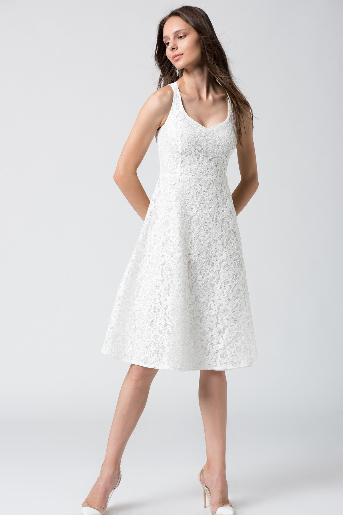 Beyaz Dantel Elbise Mlwss16fz2581 Dantel Elbise Elbise Mezuniyet Elbiseleri