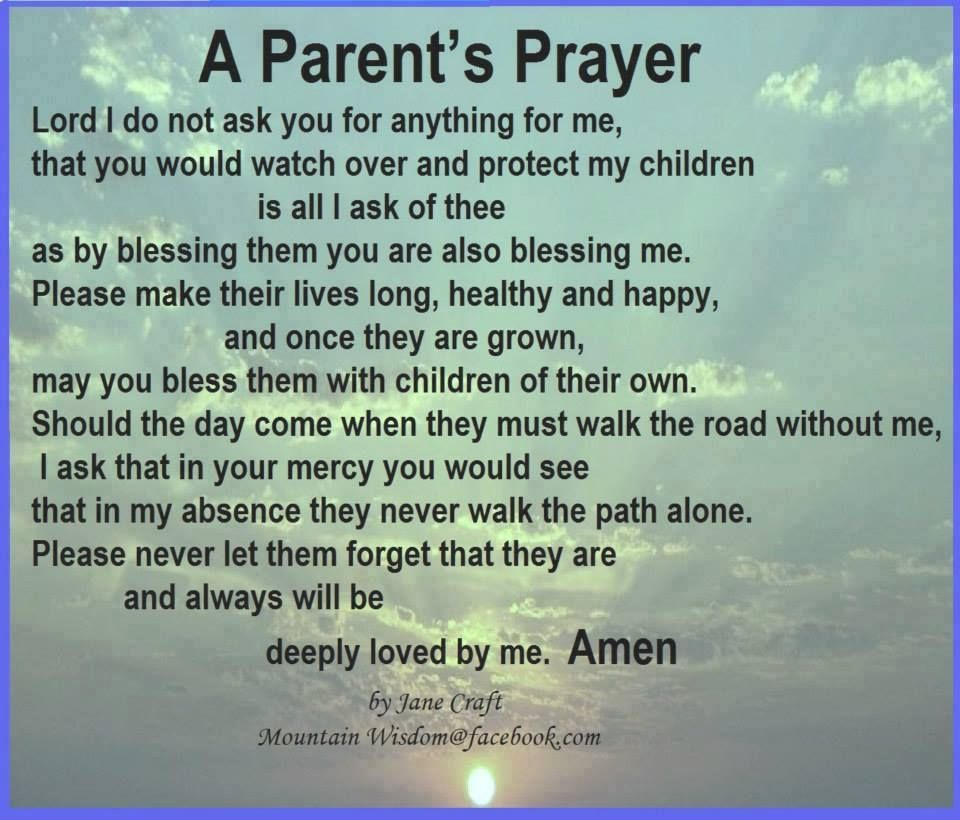 Children are God s blessing I will always be grateful for them and love them with
