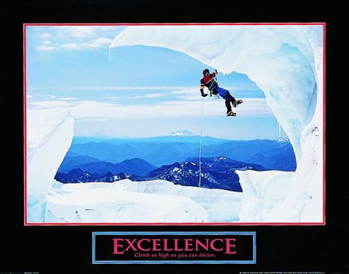 Excellence   Motivational   Hardboards   Wall Decor   Plaquemount   Blockmount   Art   Inspirational   Pictures Frames and More   Winnipeg   MB   Canada