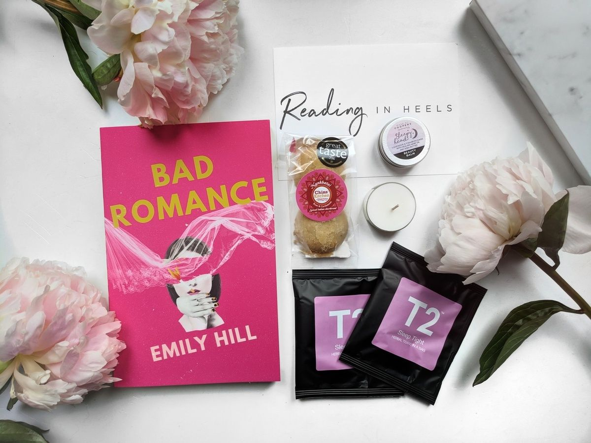 Past Boxes Subscription Boxes Bad Romance Geek Books