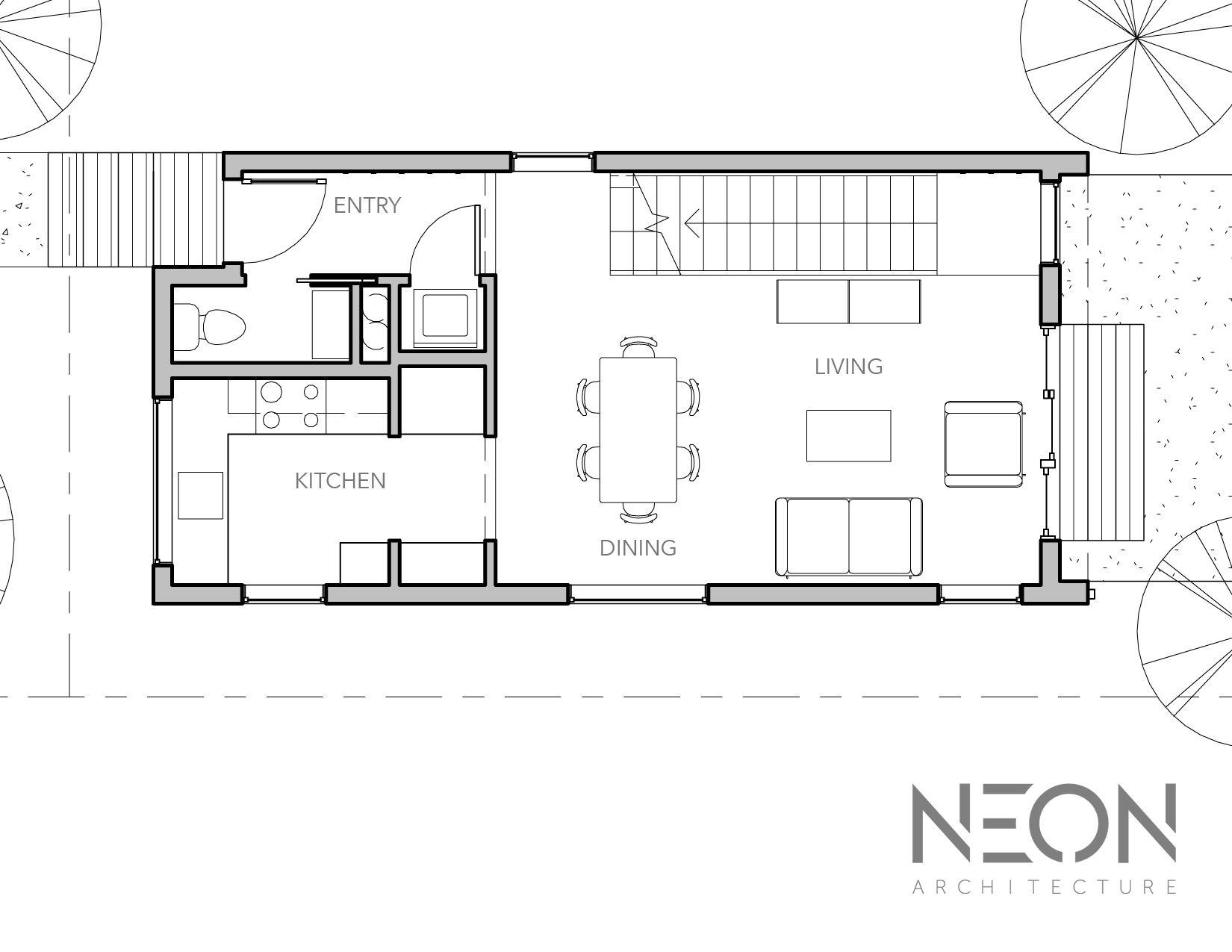 NEON Architecture | CUBE HOUSE