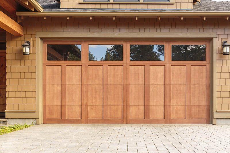 Wood Garage Doors Repair Install Los Angeles Garage Doors Garage Door Windows Garage Door Design