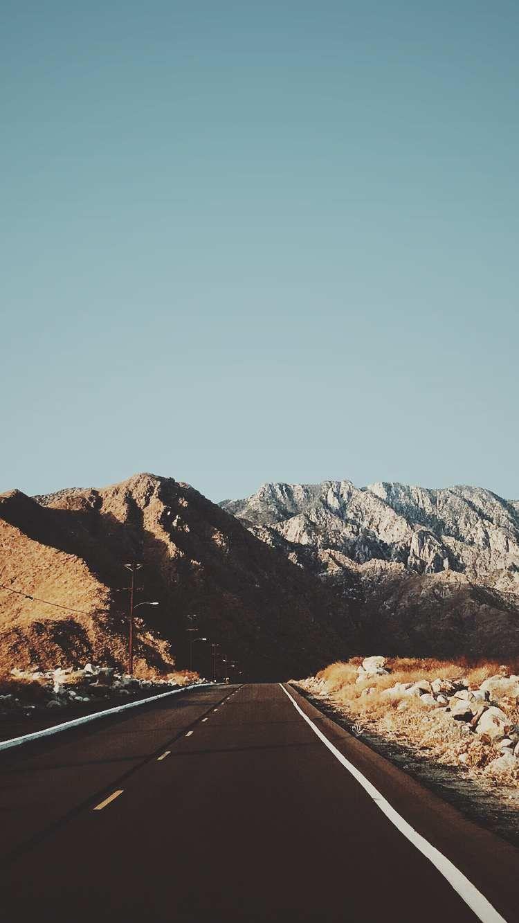 Road Mountains USA Wallpaper   Wallpaper iphone christmas, Holiday ...