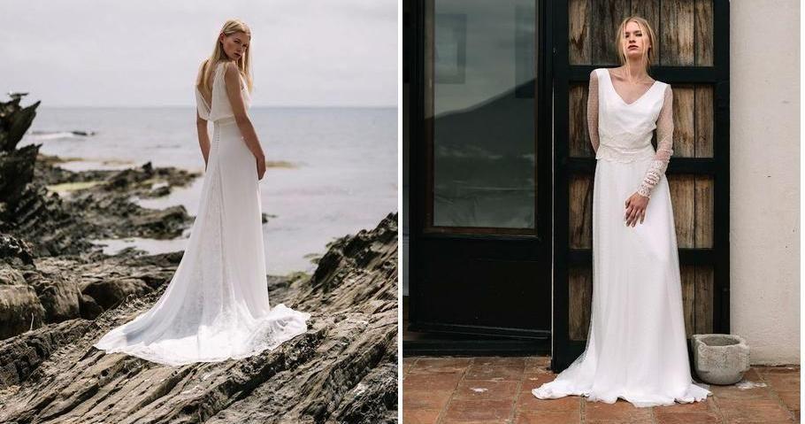 Vestidos de nocia con esencia mediterránea