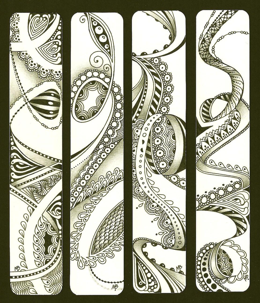 Enthusiastic Artist: ZIA Bookmarks Als dit geen kunst is ...