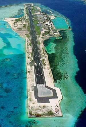 Maldivas Airport: The Maldives or Maldive Islands, officially the Republic of Maldives, is an island country in the Indian Ocean formed by a double chain of twenty-six atolls stretching in a north-south direction off India's Lakshadweep islands, between Minicoy Island and Chagos Archipelago. It stands in the Laccadive Sea, about 700 kilometres (435 mi) southwest of Sri Lanka.