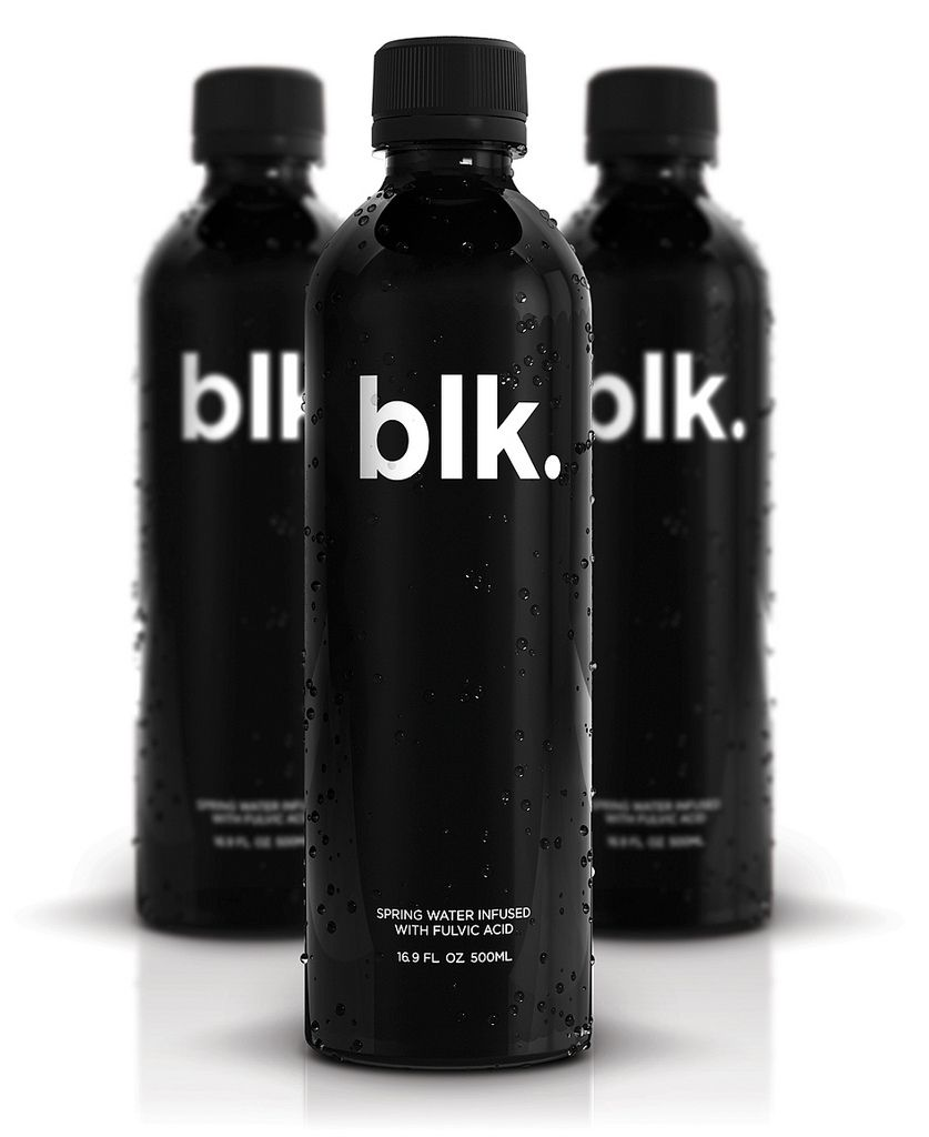 Pin By Aida B On Product Design Blk Water Beverage Packaging Bottle Packaging
