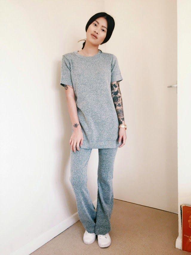 Cosy in grey