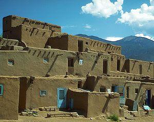 Pueblo Adobe Homes Earthship Home Pueblo Adobe House