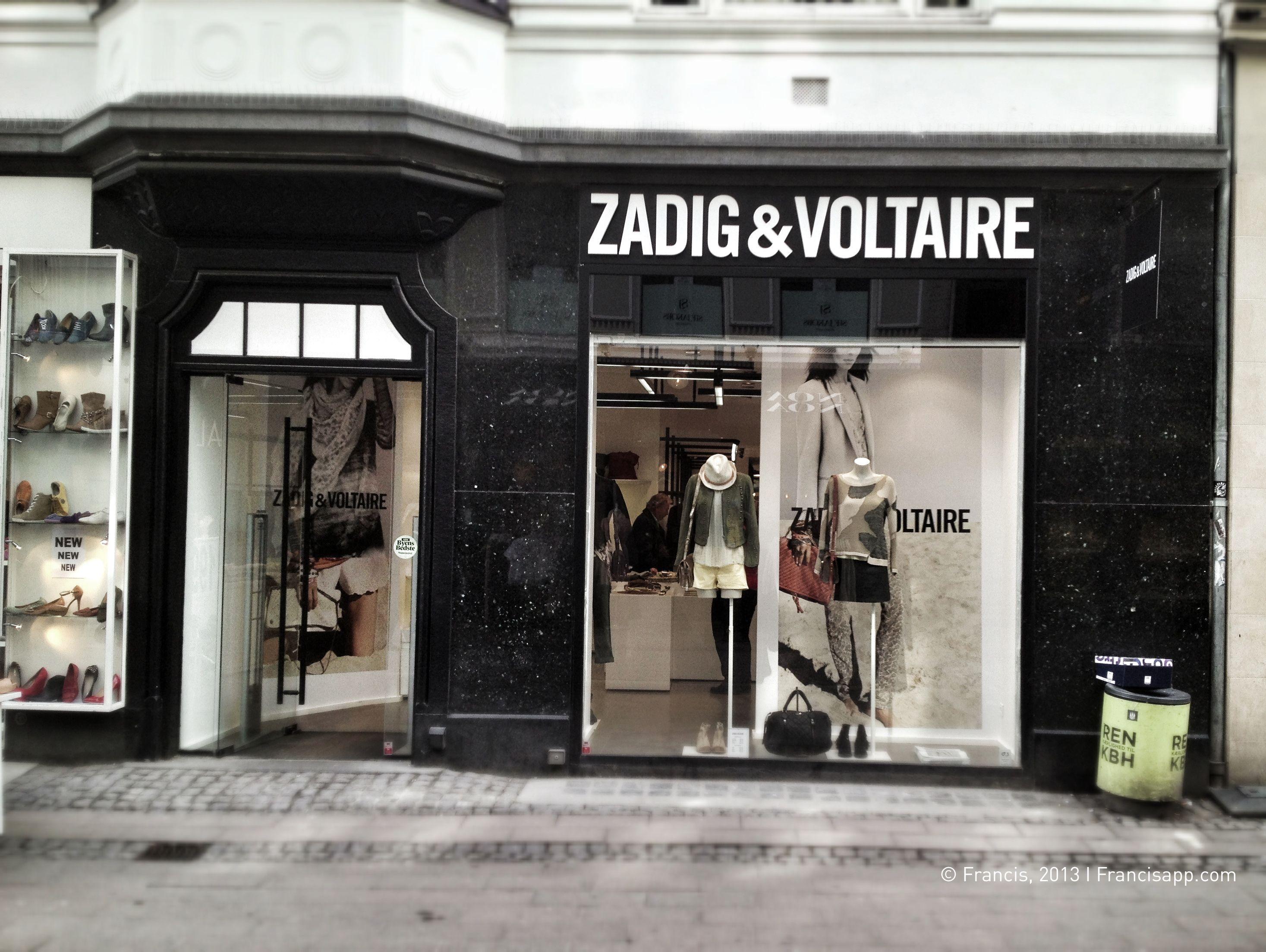Zadig&Voltaire, Strøget, Copenhague. Francis, 2013 I Francisapp.com