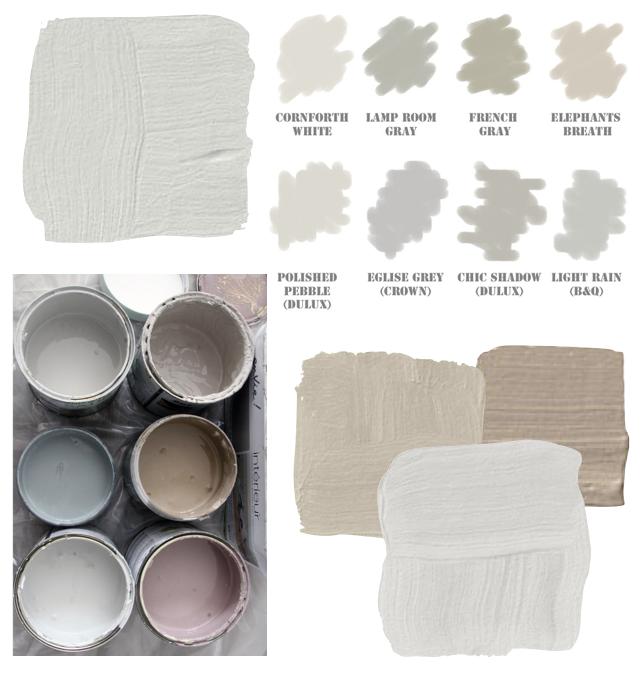 Tonos de blanco roto deco paredes neutras pintura - Tonos de pintura ...