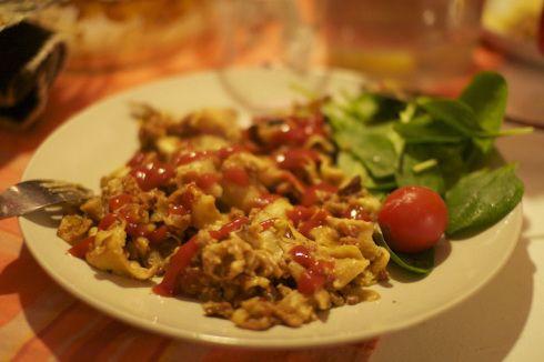 vegansk lasagne sojafärs