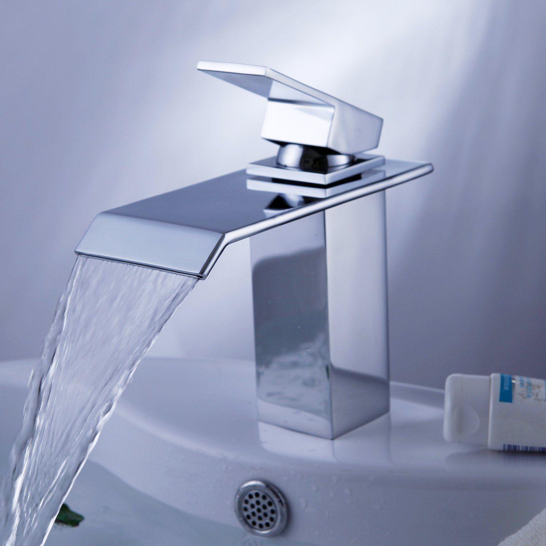 Messing Wasserhahn Moderne Armaturen Im Bad Ein Stück