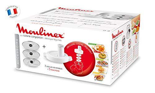 Moulinex Decoupe Legumes Xf383110 Accessoire Companion Officiel