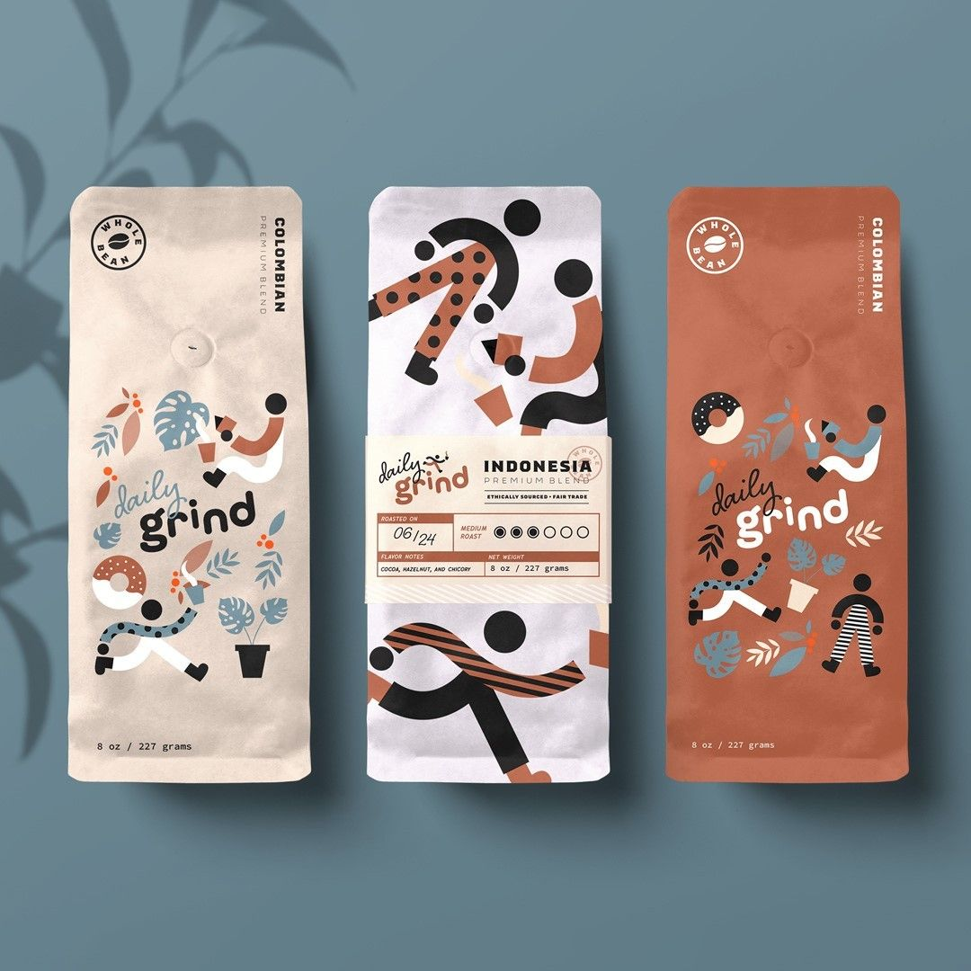 Download Mr Mockup On Instagram Project Created Using Our Free Coffee Bags Mockups Project Design By Abbykwondesign Coffee Branding Design Bag Mockup Coffee Design