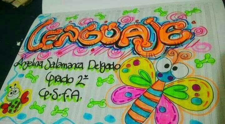 Caratulas Color Cuadernos Escolares Infantiles Dibujos Para 2: Pin De ELIANA PIEDRAHITA En Portadas De Cuaderno