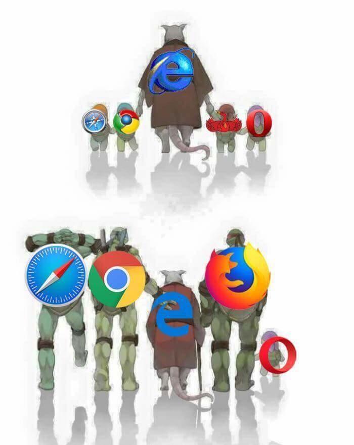 Netscape would be Splinter's master. | The Internet