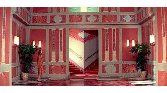 The Colorful & Creepy Interiors of Suspiria #productiondesign